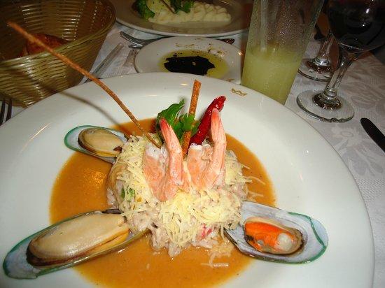 Hotel Riu Santa Fe Dinning At The Italian Restaurant