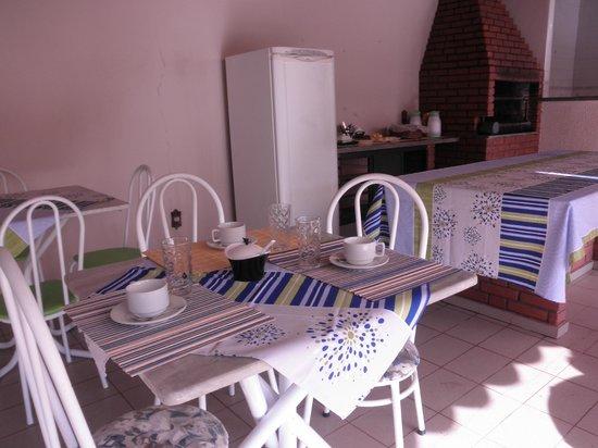 Hostel Chaplins : Café da manha