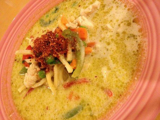 Sweet Basil Thai : Green Curry