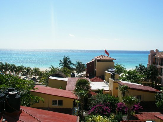 Hotel Labnah : vista des de la terraza