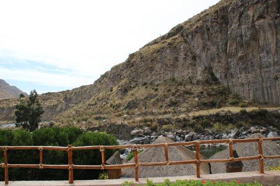 Hotel El Refugio: Vue de la chambre