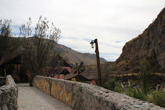 Hotel El Refugio: Entrée de l'hôtel