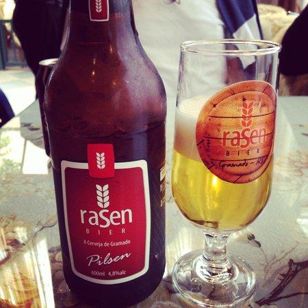 Sanduiche Beiruth : Probé la cerveza Rasen local muy buena