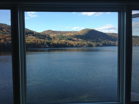 Lake Morey Resort: View from our room