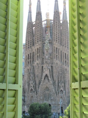 Gaudi's Nest: View from the kitchen