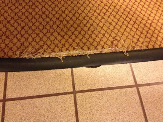 MOXY New Orleans Downtown/French Quarter Area : Frayed carpet - should be fixed now before it gets worse.