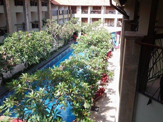 All Seasons Legian Bali: view from balcony