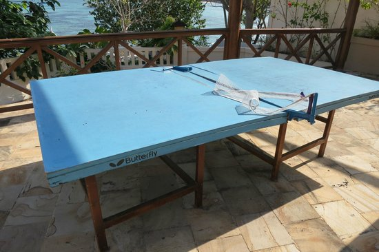 Coconuts Beach Resort: Ping pong table