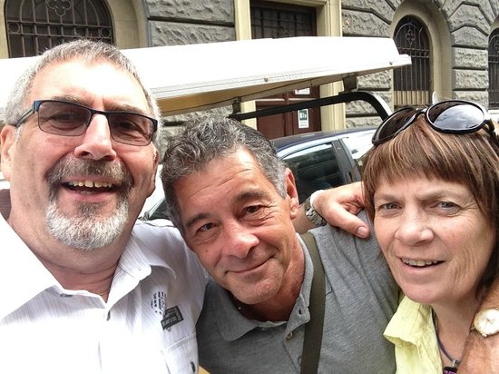 Gioia Private Tours & Trips : That's Victor in the middle. Fantastic Guide...A+