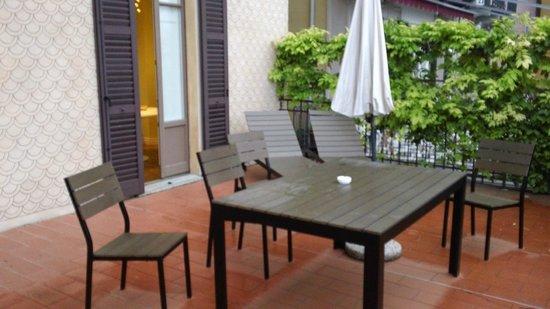 Hotel Silvio: The amazing terrace