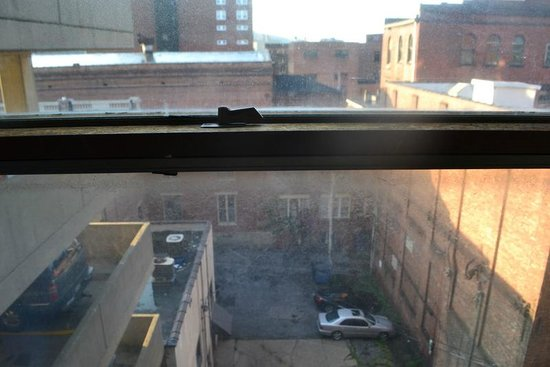 The McLure Hotel & Suites: hotel window