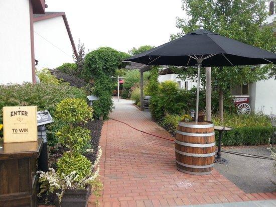 Reif Estate Winery : tour- edible garden