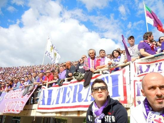 Stadio Artemio Franchi: stemning på Stadion