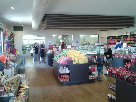 Yarra Valley Chocolaterie & Ice Creamery: The Store