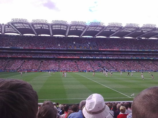 Croke Park Stadium Tour & GAA Museum: people on the other side like a dots