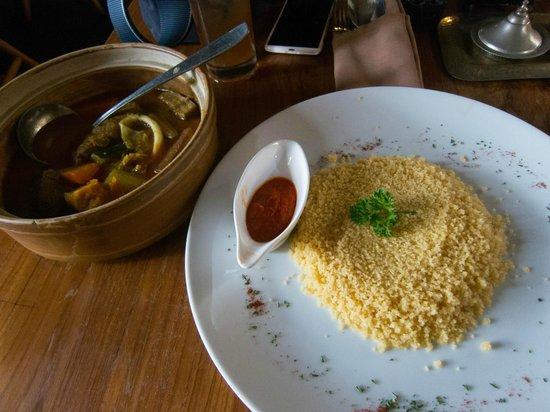 Khaima Restaurant: Lamb stew