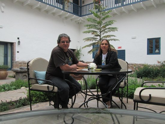 Belmond Palacio Nazarenas: Descansando