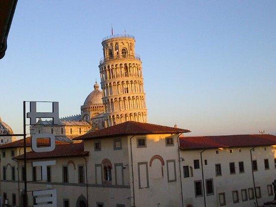 Hotel Villa Kinzica: View from window in room 64
