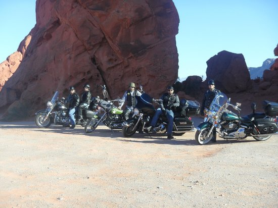 Washington, UT: Valley of Fire motorcycle tour