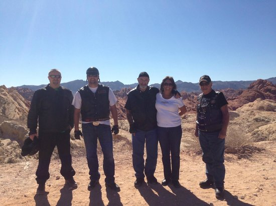 Big Shots Motorcycle Tours- Day Tours: Valley of Fire NV State Park guided motorcycle tour