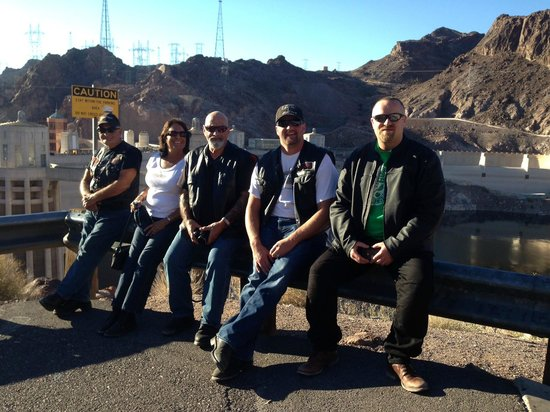 Big Shots Motorcycle Tours- Day Tours: Hoover Dam motorcycle Tour