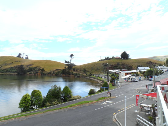 Otago Peninsula Motel: One view from your private balcony.