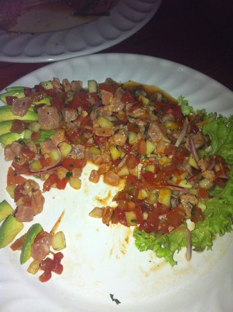 Misiones De Kino : Marlin ceviche that was to die for