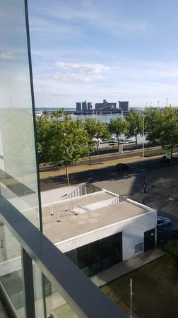 Novotel Le Havre Centre Gare : view from the balcony
