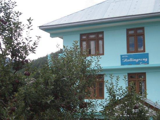 Hotel Rupin River View: Hotel Rolling Rang , Kalpa