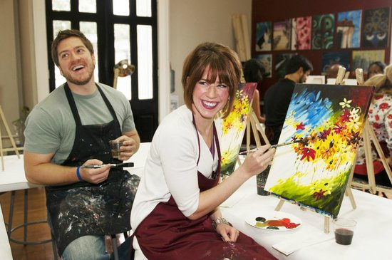 Painting with a Twist: Winner of Best Date Night Entertainment in Acadiana