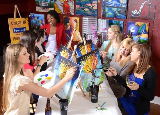 Awesome Review Of Painting With A Twist Lafayette La Tripadvisor