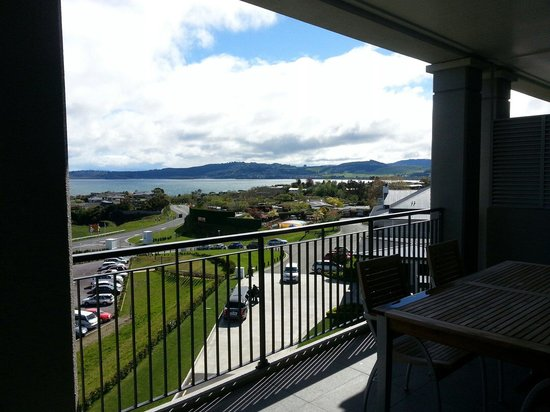 Hilton Lake Taupo : View from 1 bedroom apartment