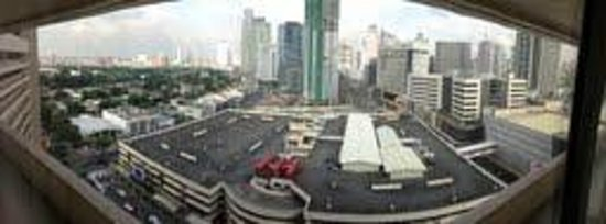 Dusit Thani Manila: View from my Room