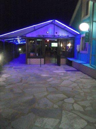 Katsaros: The Bar Enterance at Night
