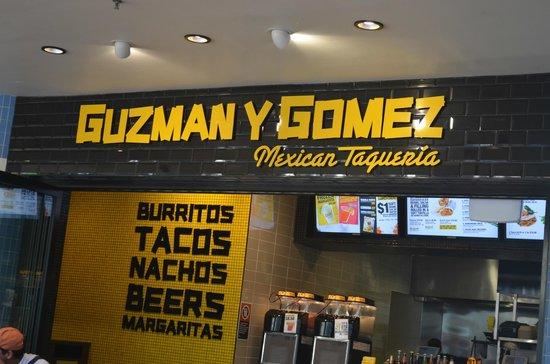 Guzman Y Gomez Taqueria: The place