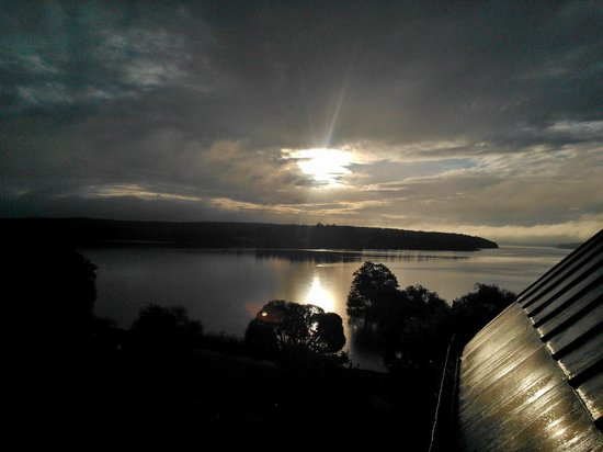 Sigtuna Stadshotell : morning view from room