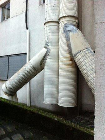 Cœur de City Hotel Nancy Stanislas by HappyCulture : vue ch 108 sur la ventilation très très buyante du restaurant