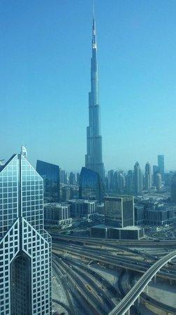 Shangri-La Hotel, Dubai: View from the room