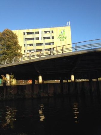 Holiday Inn Cardiff City Centre: from the river boat