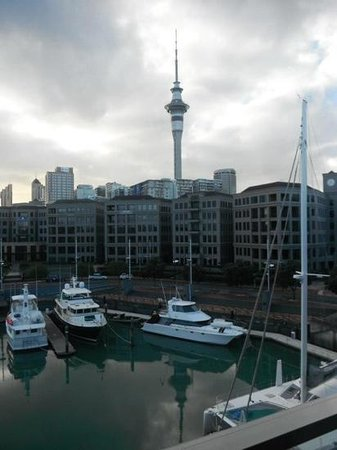 Sofitel Auckland Viaduct Harbour: view from our room
