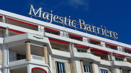 Hôtel Barrière Le Majestic Cannes : au majestic