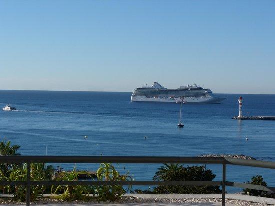 Hôtel Barrière Le Majestic Cannes : panorama de la terrasse