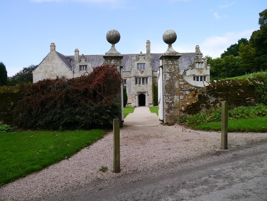 Trerice : From the road