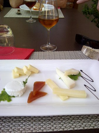 La Table d'Aime : fromages délicieux...!