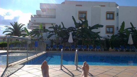 Apartamentos Casa Luis: feet