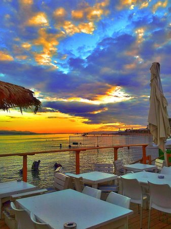 Barbeach : sunset