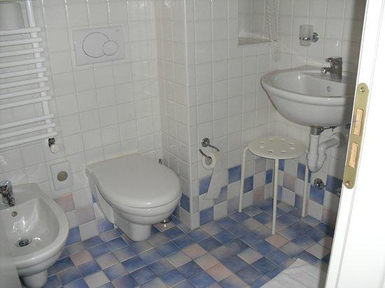 Hotel Crosal,: Bagno pulitissmo