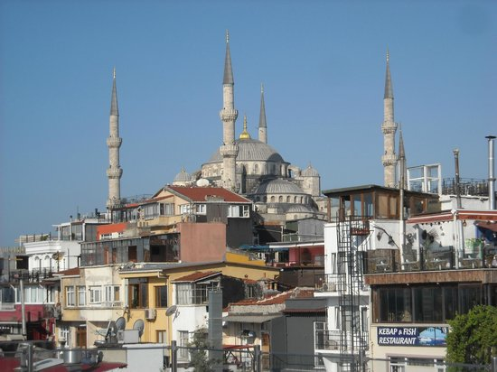 Orient Hostel International: Dalla terrazza panoramica