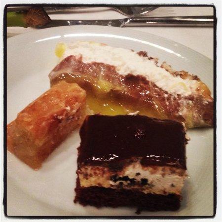 Santa Marina Plaza : Super desserts