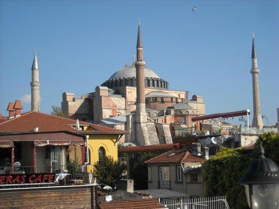 Orient Hostel International: Panorama dalla terrazza